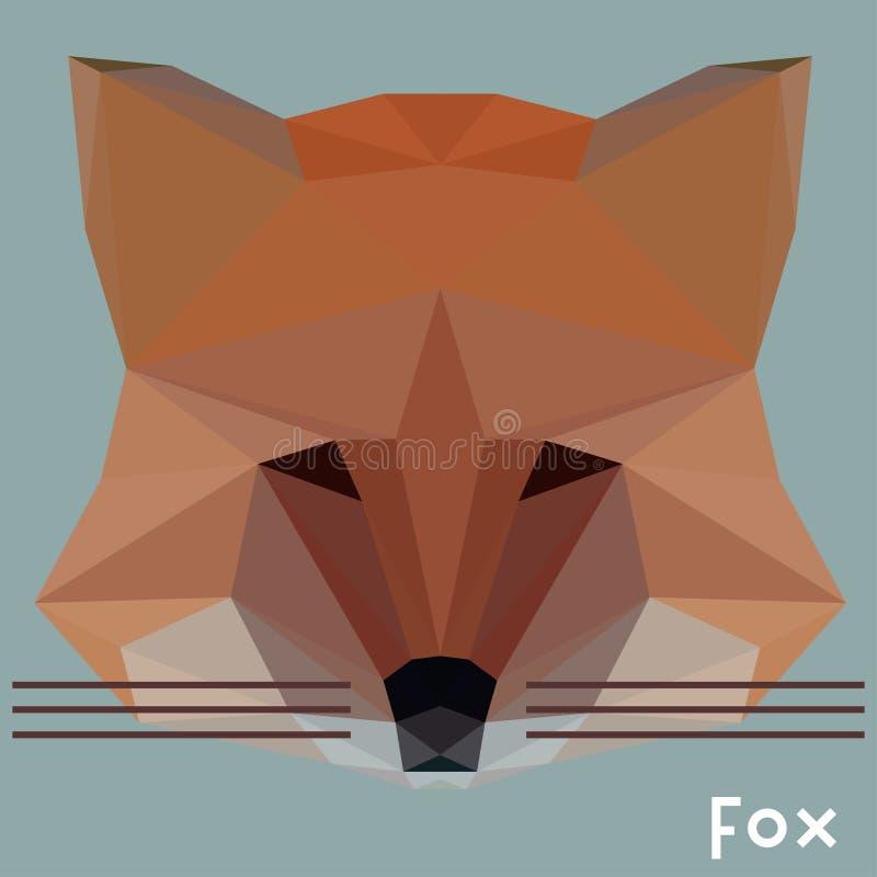 Polygonal αλεπού ελεύθερη απεικόνιση δικαιώματος