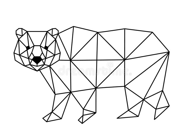 Polygonal αλεπού απεικόνιση αποθεμάτων
