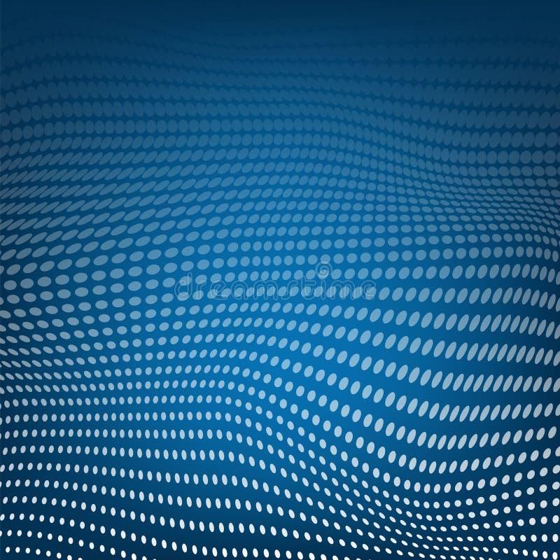 Polygonal διαστημικό χαμηλό πολυ μπλε υπόβαθρο με τη σύνδεση του σημείου r r Πλέγμα με τη σύσταση σημείων απεικόνιση αποθεμάτων