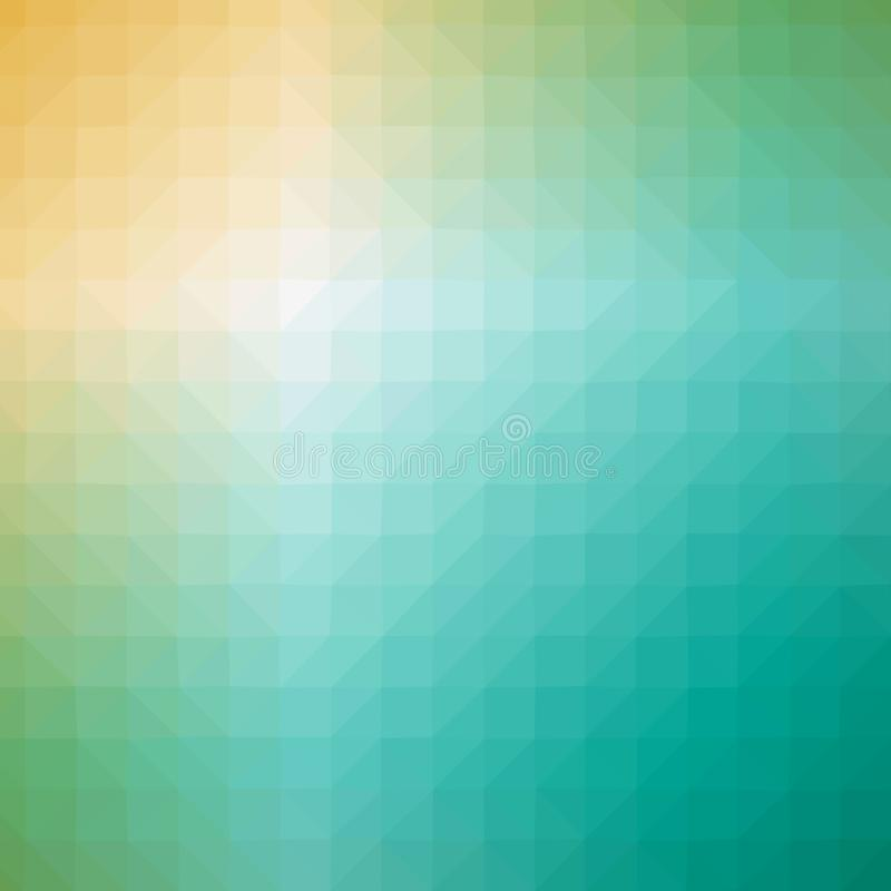 Polygonal colors background. Abstract colors polygonal triangles pattern background royalty free stock photography