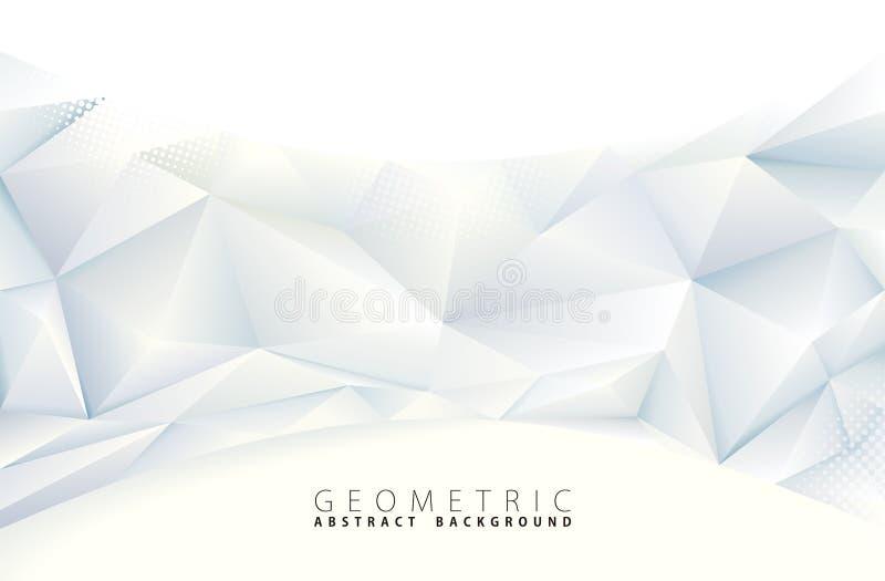Polygonaler abstrakter Hintergrund lizenzfreie abbildung