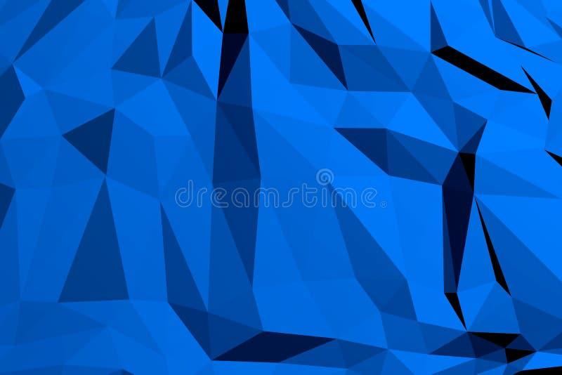 Polygonaler geometrischer Muster-Hintergrund vektor abbildung