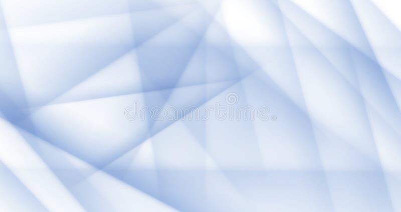 Polygonaler Halbtonhintergrund des hellblauen Eisvektors stock abbildung