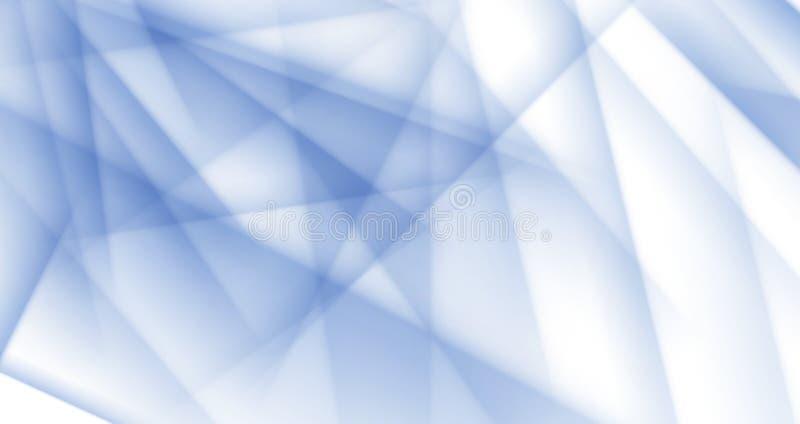 Polygonaler Halbtonhintergrund des hellblauen Eisvektors lizenzfreie abbildung