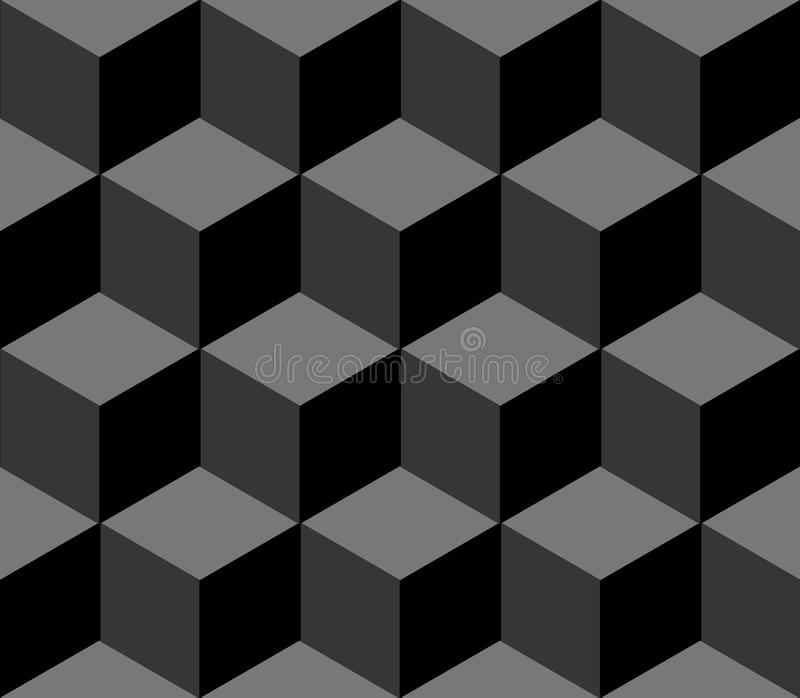 Polygonales nahtloses Muster lizenzfreies stockbild