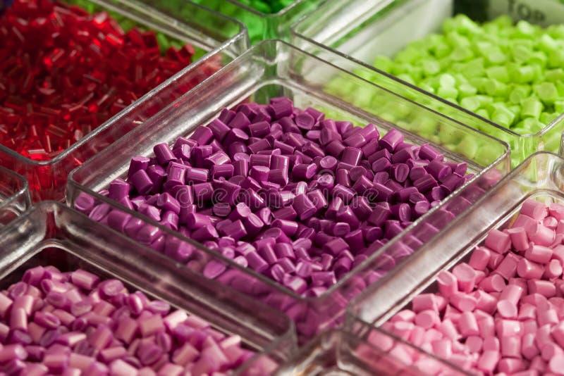 Polymère en plastique images stock