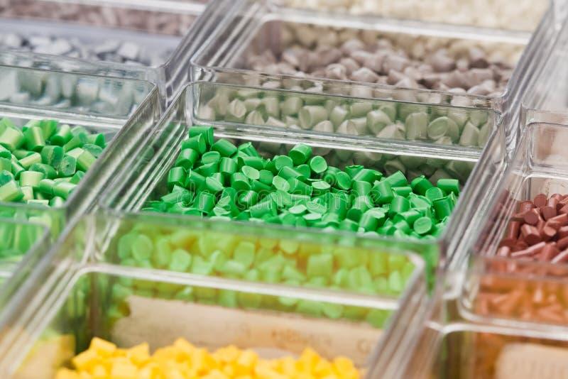 Polymère en plastique photos stock