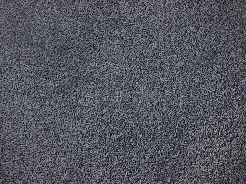 Polymères obtenus à partir des chutes photo stock