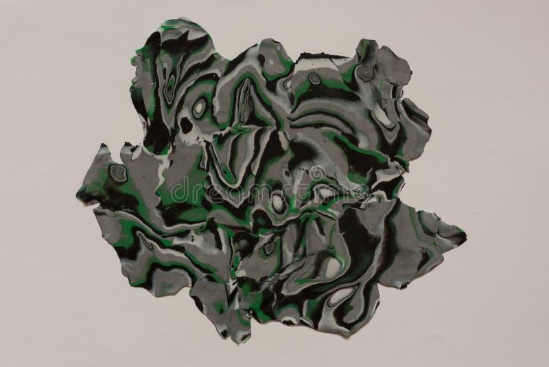 Polymeerklei, textuur, achtergrond handmade royalty-vrije stock foto