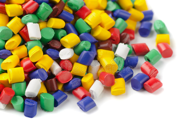Polymer granules royalty free stock image
