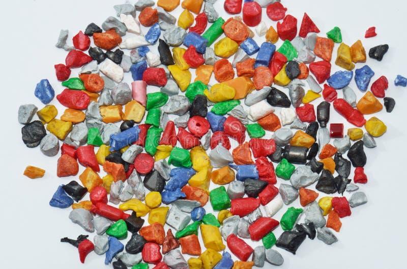 Polymer-Plastik schleifen nach lizenzfreie stockfotografie