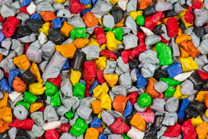 Polymer-Plastik schleifen nach lizenzfreies stockfoto
