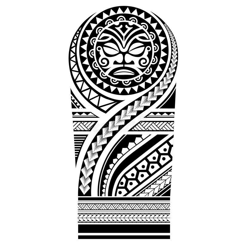 Polynesian Inspired Design Tribaltattoo Polynesiantattoo 1