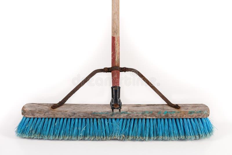 Polypropylene Push Broom stock image