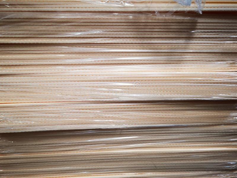 Polystyren på ett lager arkivbilder