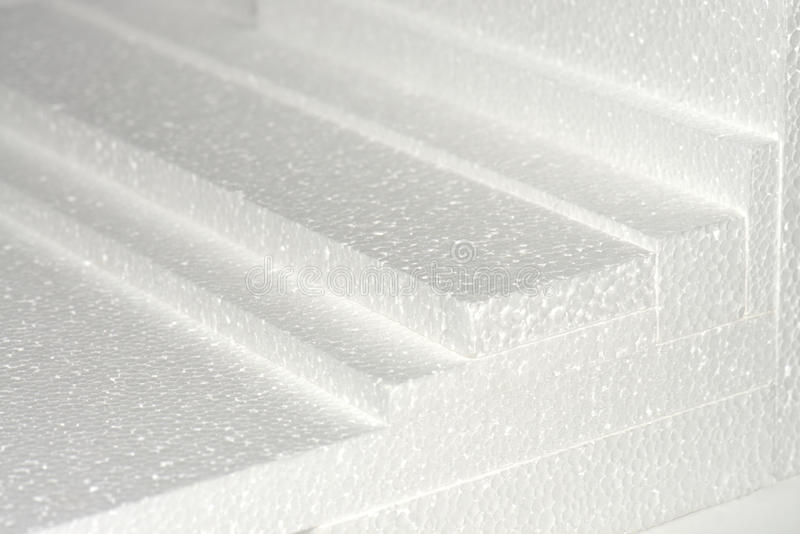 Polystyrene Sheets Royalty Free Stock Photography