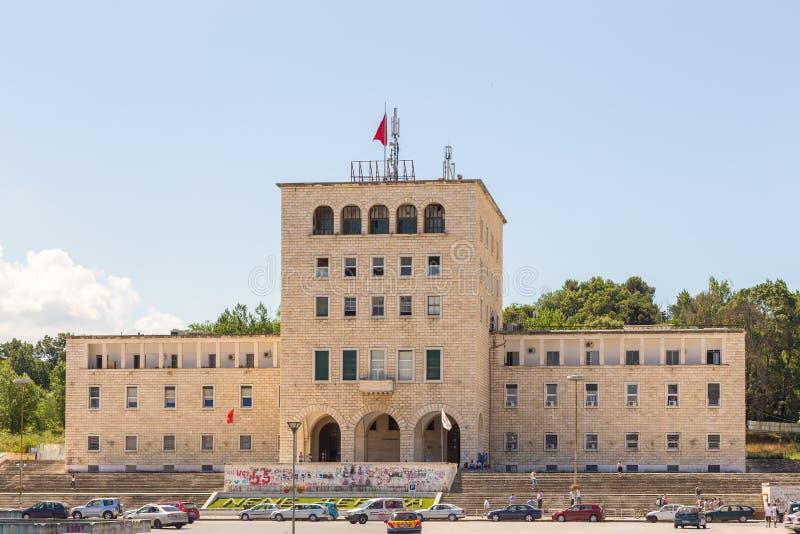 Polytechnische Universität von Tirana, öffentliche Universität, Albanien lizenzfreies stockfoto