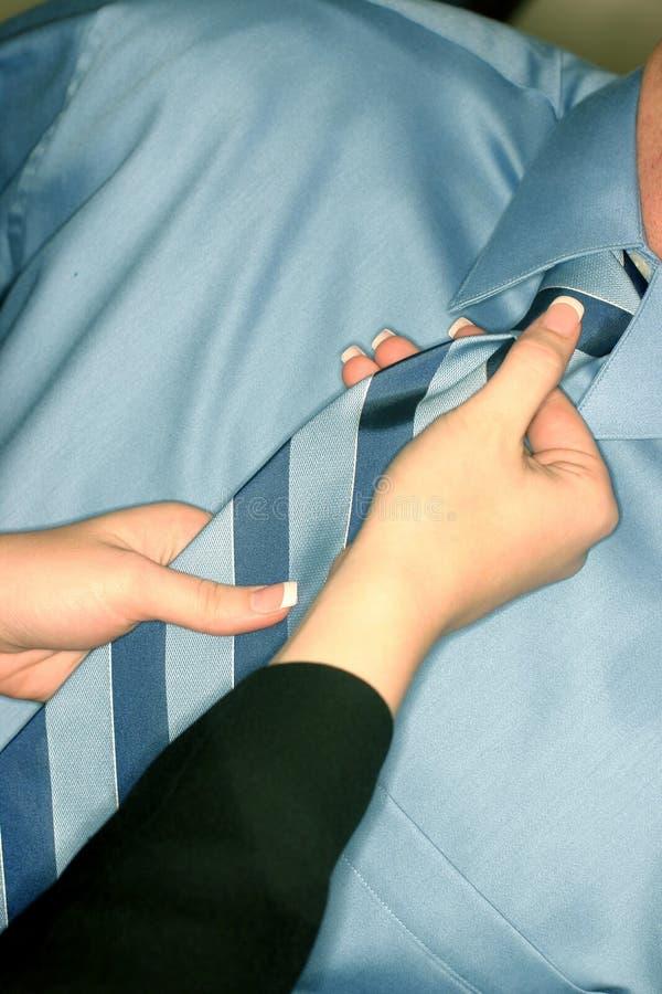 pomóż krawat fotografia stock