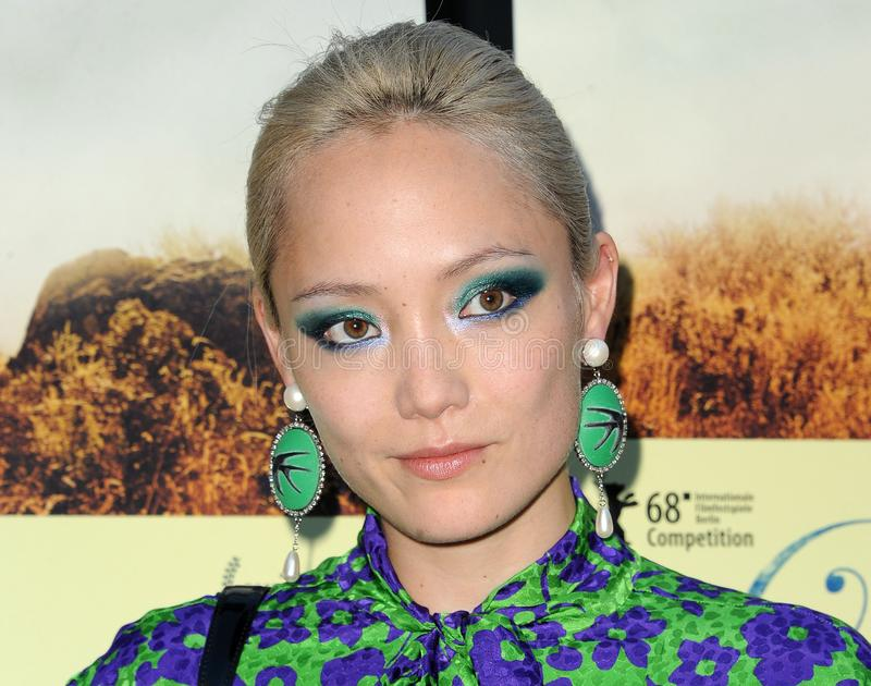 Pom Klementieff. At the Magnolia Pictures` premiere of `Damsel` held at the ArcLight Hollywood in Hollywood, USA on June 13, 2018 royalty free stock photography