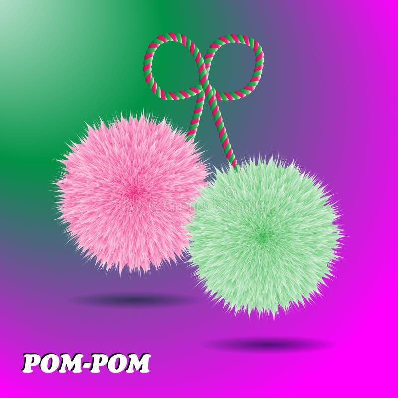 Pom Pom stock abbildung