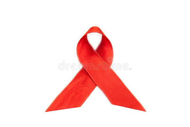 pomaga świadomości hiv faborek zdjęcia royalty free