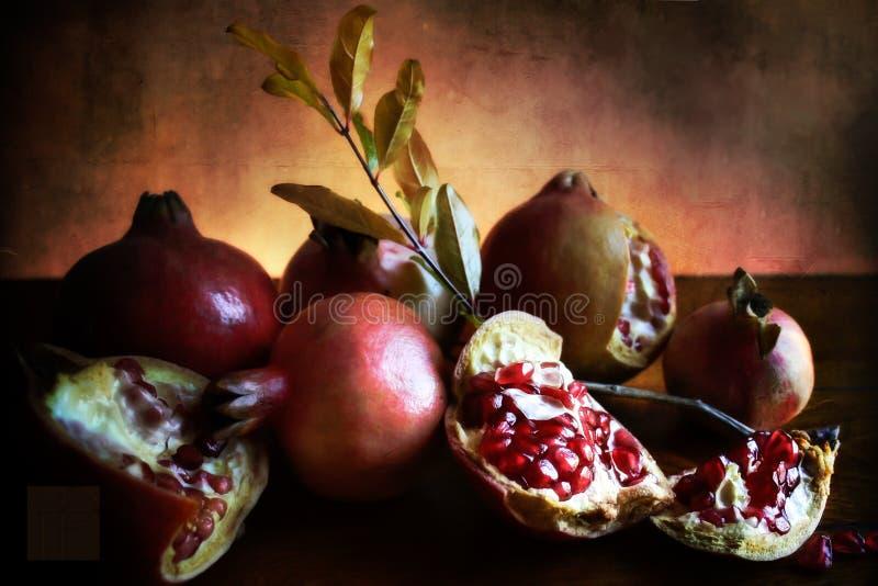Pomagranate fotografía de archivo