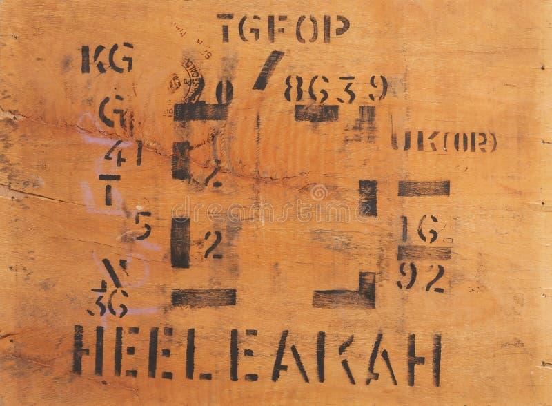 pomalowany drewna fotografia stock
