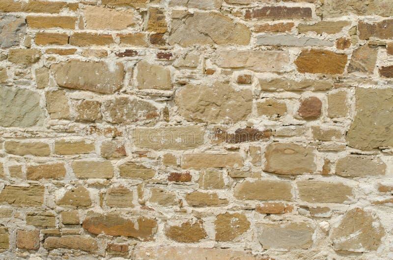 Pomarańcze ściana dziki kamienia zakończenie up zdjęcia royalty free