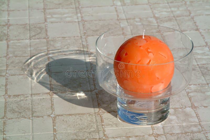 pomarańcze świece. obraz royalty free