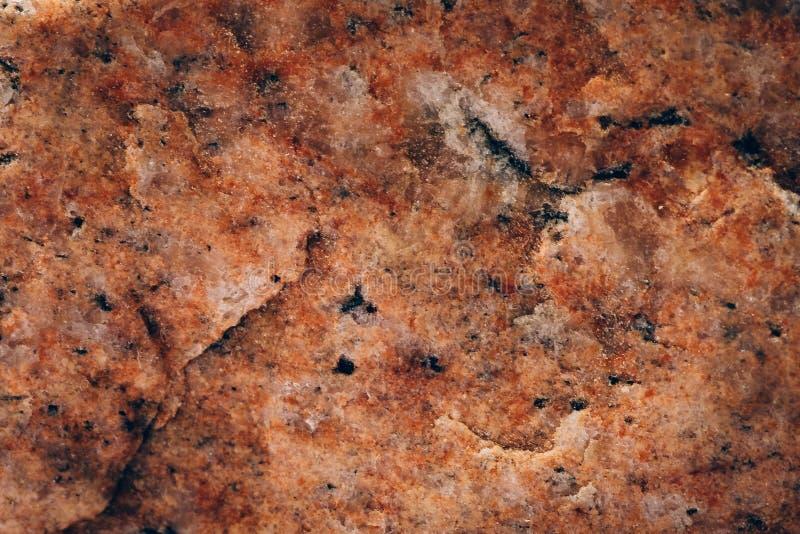 Pomarańcze marmuru kamienia powierzchni tekstura jako abstrakcjonistyczny geologiczny tło, zdjęcia royalty free