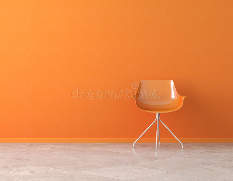 pomarańcze odbitkowa wewnętrzna ściana ilustracji