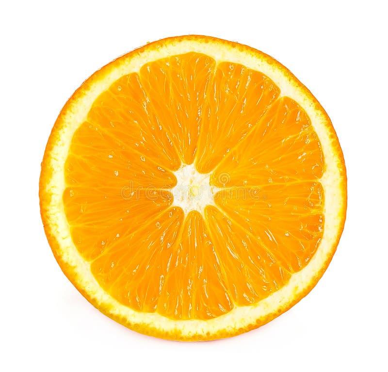 Pomarańcze odizolowywająca na białym tle obraz royalty free