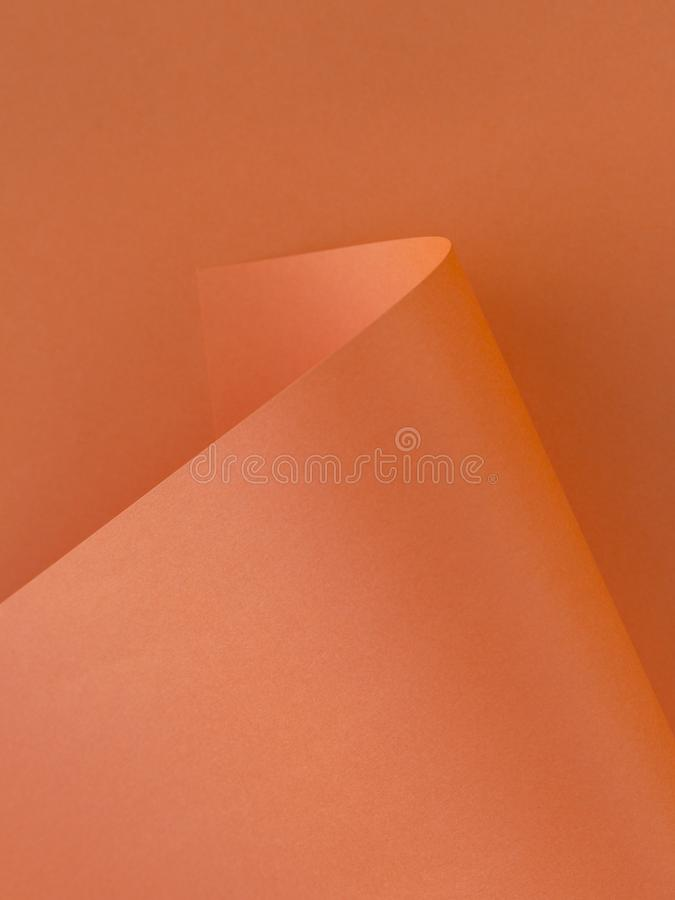 Pomarańcze Papierowa tekstura dla tła obrazy royalty free