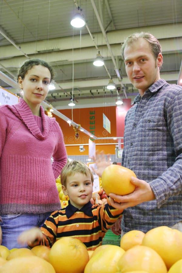 pomarańcze rodzinna obraz royalty free