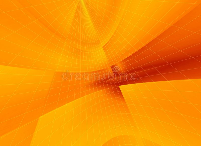 pomarańcze sieci royalty ilustracja