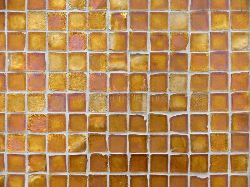 pomarańcze tła wzoru płytki szklane miedzi zdjęcia royalty free