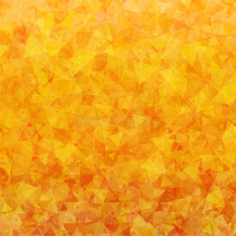 Pomarańcze trójboków rozrzucony tło royalty ilustracja