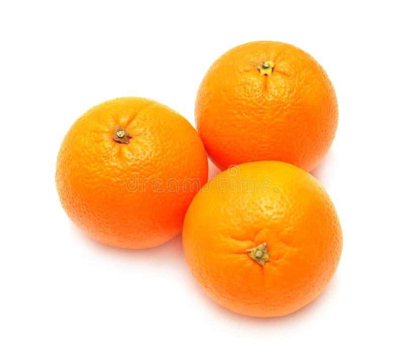 pomarańcze trzy zdjęcia royalty free