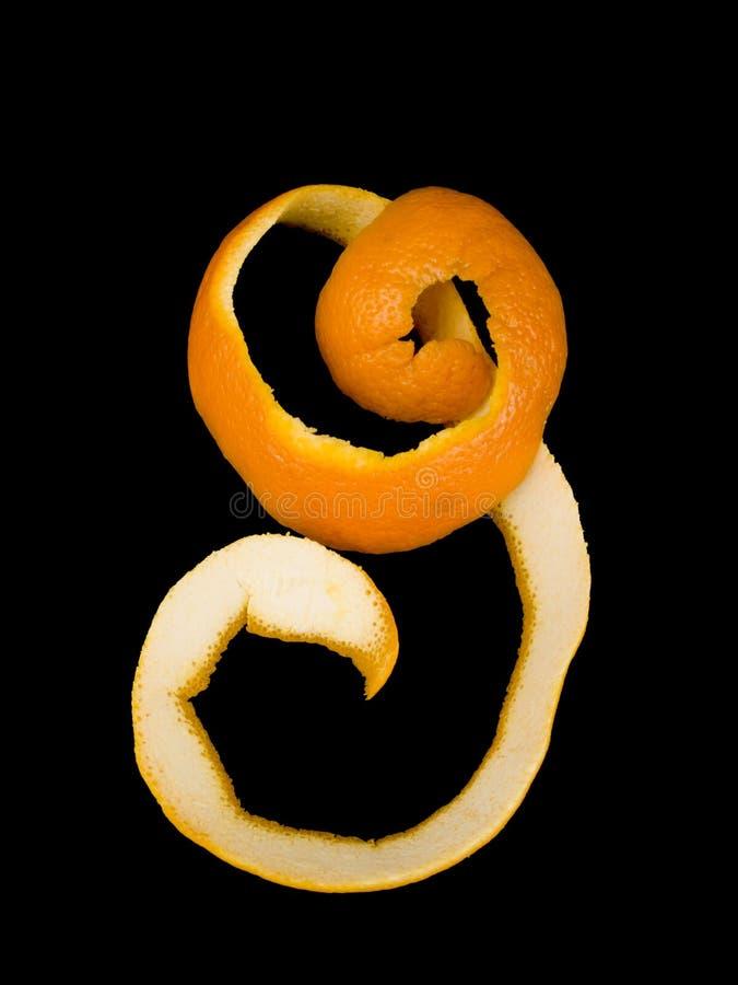 Download Pomarańczowa łupa obraz stock. Obraz złożonej z zmrok - 13330185