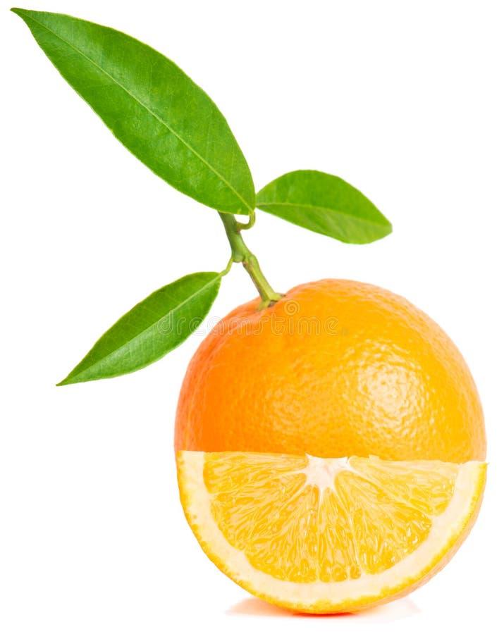 Pomarańczowa owoc obrazy royalty free