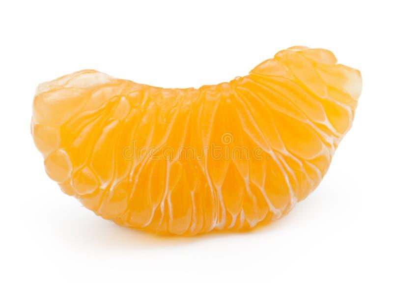 Pomarańczowa owoc, mandarynka, tangerine plasterek obraz royalty free