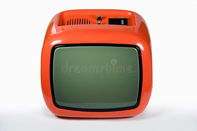 pomarańczowe światła tv obraz stock