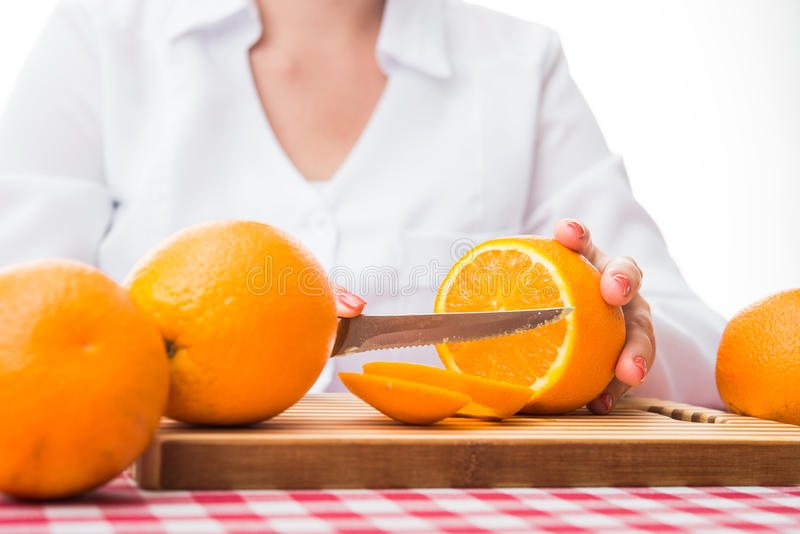 pomarańczowe świeże owoc zdjęcia stock
