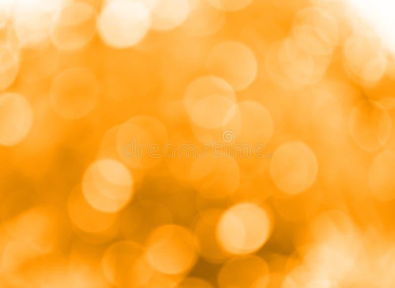 Pomarańczowego drzewa bokeh dla tła zdjęcie royalty free