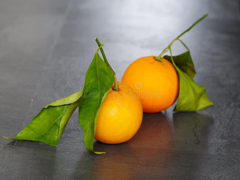 Pomarańczowi prześcieradła obraz stock
