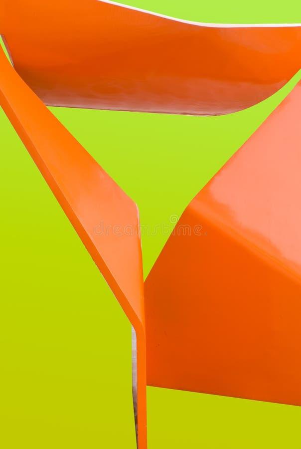 pomarańczowy abstrakcyjne żółty fotografia stock