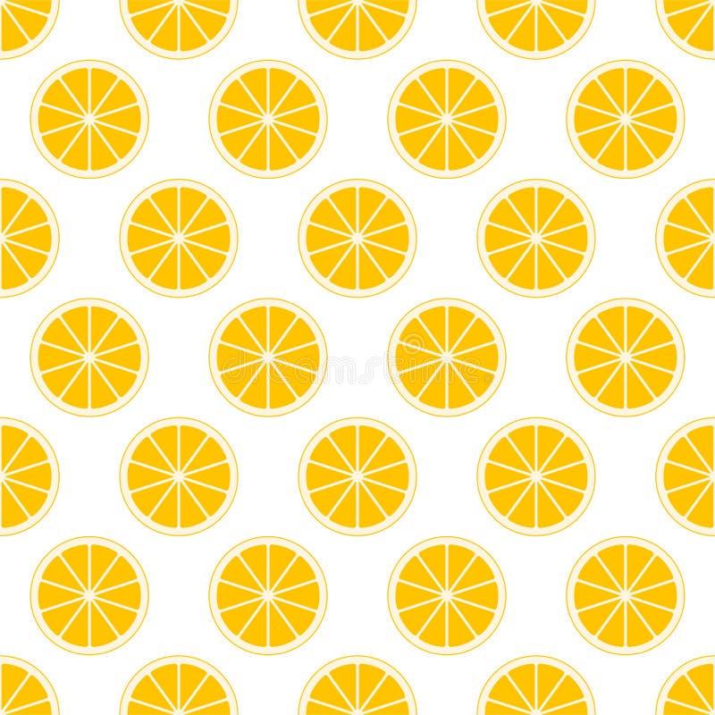 Pomarańczowy cytrusa tło rżnięta świeża soczysta pomarańcze dzwoni w rzędzie obok each inny i na przemian below Pojęcie zdrowy f ilustracji