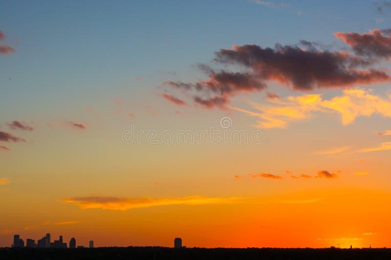 Pomarańczowy Dallas fotografia royalty free