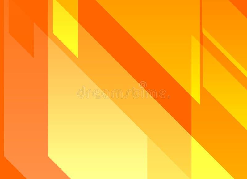 Pomarańczowy Dynamiczny Abstrakcjonistyczny tło obrazy stock
