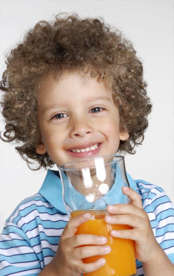 Pomarańczowy dzieciak. obraz royalty free